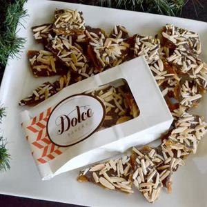Dolce Dark Chocolate & Toasted Almond Toffee